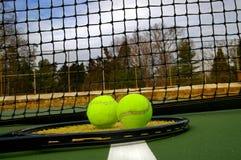 Racket en ballen Stock Fotografie