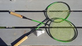 Racket för tennis Arkivfoto