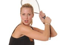 Racket Girl 5 Stock Photo