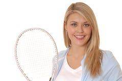 Racket Girl Stock Image