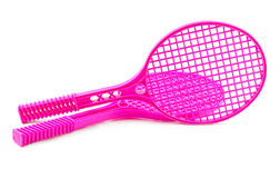 Racket isolated Royalty Free Stock Images