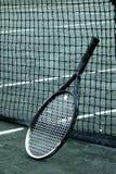 Racket op Netto Royalty-vrije Stock Afbeelding