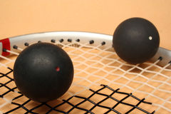 Racket squash Royalty Free Stock Image