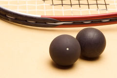 Racket squash Royalty Free Stock Photo