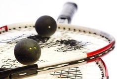 Racket squash. An white background Stock Image