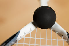 Racket Squash Royalty Free Stock Photos