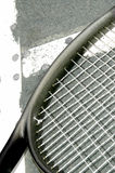 Racket on the T Royalty Free Stock Photo