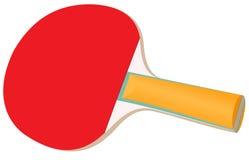 Racket voor pingpong Stock Fotografie