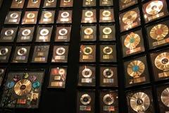 Racketbollbyggnad på Elvis Presleyâ €™s Graceland Arkivfoto