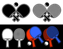 Free Rackets For Table Tennis. Royalty Free Stock Photos - 26538318