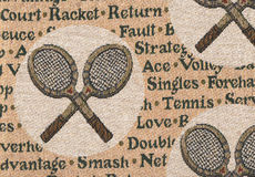 Rackets of tennis. Stock Photography