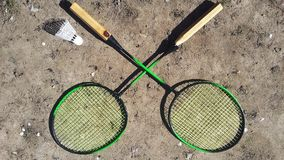 Rackets for tennis Royalty Free Stock Photos