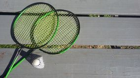 Rackets for tennis Stock Images