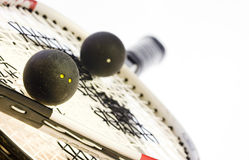 racketsquash Fotografering för Bildbyråer