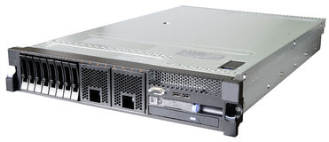 Rackmount server over white Royalty Free Stock Photography