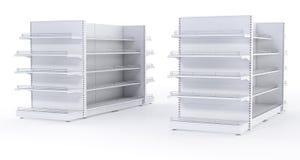 Racks with shelves Stock Photo