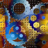 Rackwheels pattern. Royalty Free Stock Images