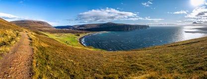 Rackwick fjärd, ö av hoyen, Orkney öar Royaltyfri Bild