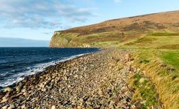 Rackwick fjärd på ön av hoyen, Orkney Royaltyfri Bild