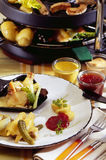 Raclette Stock Photography