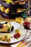 Raclette Fotografía de archivo