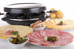 Raclette royalty free stock photos