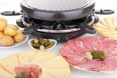 Raclette Stockbild