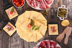 Raclette Royalty Free Stock Photography