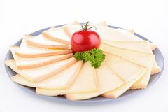 Raclette cheese Stock Photos