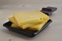 Raclette  with chessee Royalty Free Stock Photo