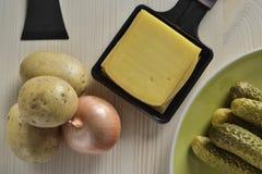 Raclette van Bern zwitserland Royalty-vrije Stock Afbeelding