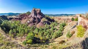 Racos火山在特兰西瓦尼亚罗马尼亚 免版税库存照片