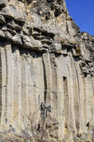 The Racos Basalt Columns detail Stock Photo