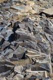 Racos-Basaltsäulen Stockfotografie