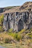 Racos-Basaltsäulen Stockfoto