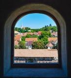 Racos citadel, Romania Stock Photos