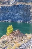 Racos-Smaragdsee Stockfotografie