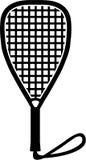 Racquetball bat Stock Photography