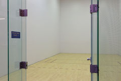 Racquetball court Stock Photo