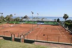 Racquets klub w plaży Obraz Stock