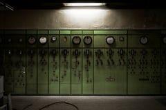 Réacteur nucléaire dans un institut de la science Photo stock