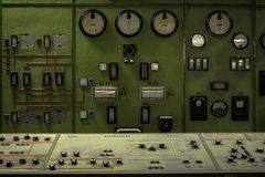 Réacteur nucléaire dans un institut de la science Photo libre de droits