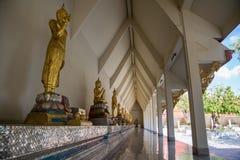 Rad av buddhas Royaltyfri Fotografi