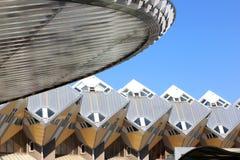 Rad av hus för holländaregulingkub i Rotterdam Fotografering för Bildbyråer
