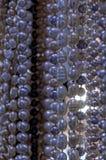Rad av pärlor arkivbilder