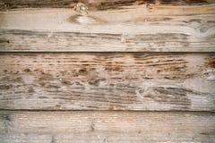 Rad av träplankabakgrund Arkivbild
