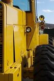 Rad-Bulldozer Stockfotos