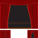 Rad curtain Stock Images