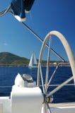Rad der Yacht Lizenzfreie Stockfotografie