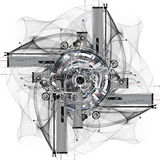 Rad der Zeit vektor abbildung